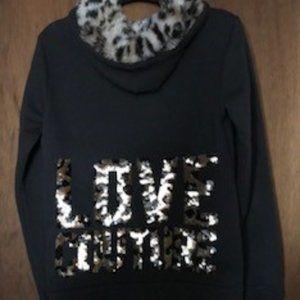 Juicy Couture hoodie lepord print